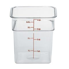 CamSquares Polycarbonate Food Storage Container 185x185x187mm.