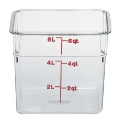 CamSquares Polycarbonate Food Storage Container 215x215x185mm.