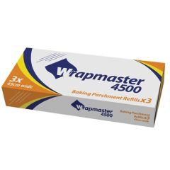 """Wrapmaster 4500 Parchment Paper 18""""x50m (3)"""