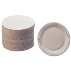 "White Paper Plates 7"""