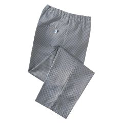 Gingham Black Chef Trousers (L)