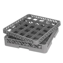 Glass Rack With 25 Compartments