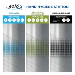 Gojo 3 Step Board Only Hand Hygiene Station