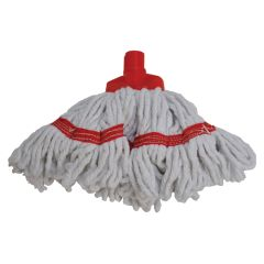 Freedom Mini Looped Blended Yarn Red Socket Mop Head