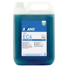 Evans EC6 All-Purpose Hard Surface Cleaner 5ltr