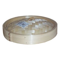 Round Bamboo Steamer Lid 8""