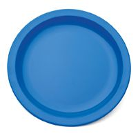 "Blue Polycarb Antibacterial Plate 9"" (12)"
