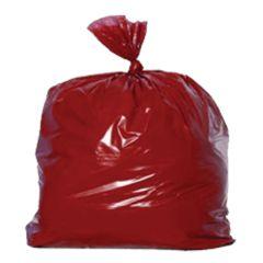 "Jangro Red Refuse Bags Medium Duty 18""x29""x38"""