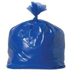 "Jangro Blue Refuse Bags Medium Duty 18""x29""x38"""