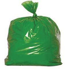 """Jangro Green Refuse Bags Medium Duty 18""""x29""""x38"""""""