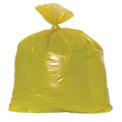 "Yellow Bin Bags 140g 20""x20"""