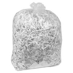 "Jangro Clear Refuse Bags Medium Duty 18""x29""x39"""