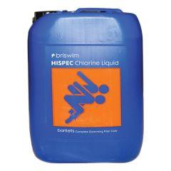 Hispec Chlorine Liquid 10ltr