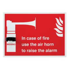Jangro Fire Alarm Horn & Shadow Board
