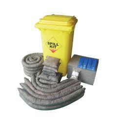 Jangro General Purpose Spill Wheelie Bin & Kit 240ltr