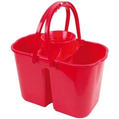 Jangro Red Duo Hygiene Bucket 8ltr & 6ltr