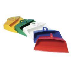 Jangro White Hygiene Lightweight Dustpan