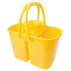 Jangro Yellow Duo Hygiene Bucket 8ltr & 6ltr
