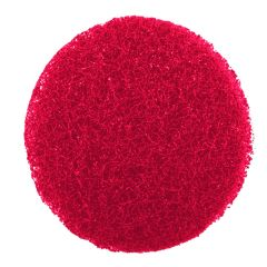 Jangro CaddyClean Red Abrasive Pads (Pack of 10)