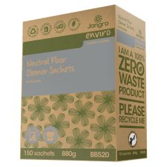 Jangro Enviro Neutral Floor Cleaner Sachets (150)