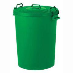Jangro Green Food Grade Dustbin 110ltr