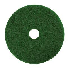 "Jangro Green Heavy Duty Scrubbing Floor Pad 19"""