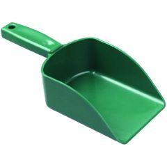 """Jangro Green Plastic Scoop 10"""""""