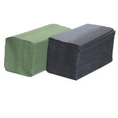 Jangro Green V Fold Economy Hand Towels 1ply