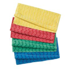 Jangro HYGEN Yellow Microfibre Cloth 40.6cm
