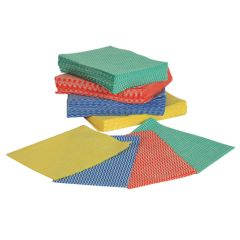Jangro Large White All Purpose Cloth (Pack of 50)