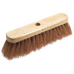 Jangro Natural Coco Fibre Broom Head 12 inches