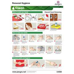 Jangro Personal Hygiene A3 Wall Chart