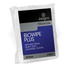 Jangro Premium Yellow Biowipe Plus (Pack of 25)