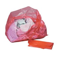Jangro Red Laundry Bags With Dissolvable Strip