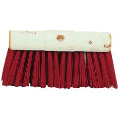 """Jangro Red PVC Yard Broom Head 13"""""""