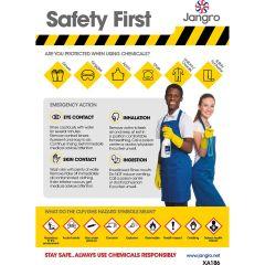 Jangro Safety First A3 Chart