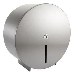 Jangro Stainless Steel Mini Jumbo Toilet Roll Dispenser
