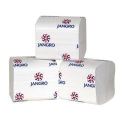 Jangro White Bulk Pack Toilet Tissue 1ply (Case of 36)