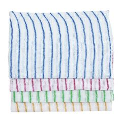 Jangro Yellow Stripe Dishcloths