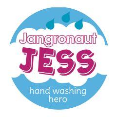 Jangronauts Jess Pupil Sticker