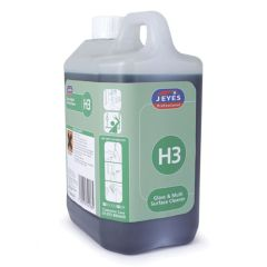 Jeyes H3 Glass & Multi Surface Cleaner 2ltr