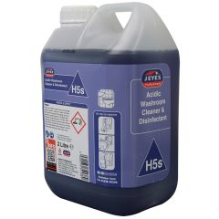 Jeyes H5 acidic washroom cleaner 2 litre