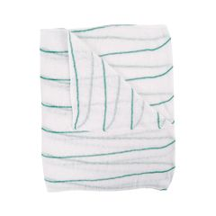 Jangro Green Stripe Dishcloths
