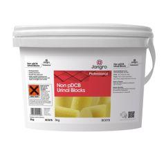 Jangro Non-pDCB Yellow Urinal Blocks 3kg