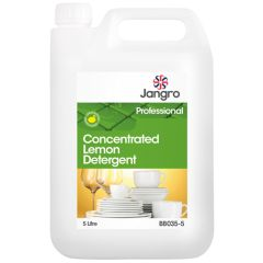 Jangro Lemon Washing Up Detergent 5ltr
