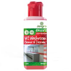 Jangro Enviro Concentrate W1 Washroom Cleaner/Descaler 1ltr
