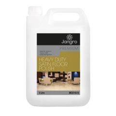 Jangro Premium Heavy Duty Satin Floor Polish 5ltr