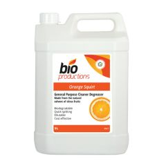 Bio Productions Orange Squirt Cleaner & Degreaser 5ltr
