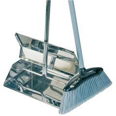 Stainless Steel Lobby Dustpan & Brush