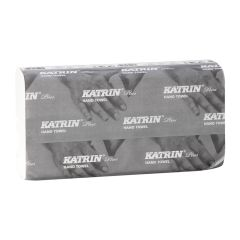 Katrin Plus Wide White Non Stop Hand Towels 2ply